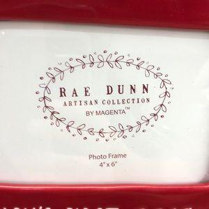 "Rae Dunn Holiday - BABY'S FIRST 2019 Rae Dunn 4"" x 6"" Photo Frame NEW"